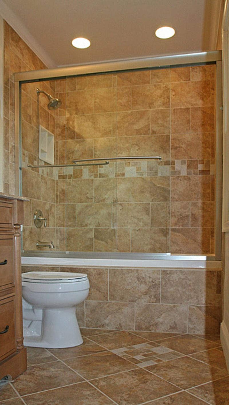 Shower Remodel Tips And Ideas : Sully Station Small Tub Shower Bathroom  Remodel