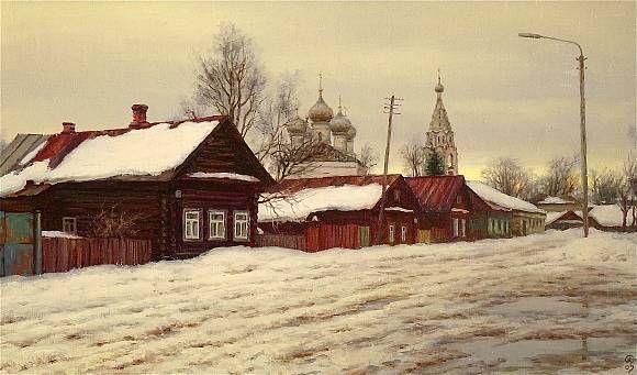 Март. Кострома, автор ОLEГ. Артклуб Gallerix