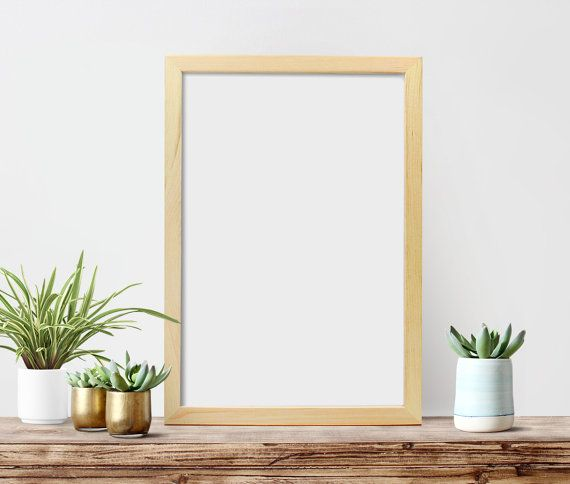 12x18x1 Poster Frame Unfinished Wood Frames Diy Picture Art Large