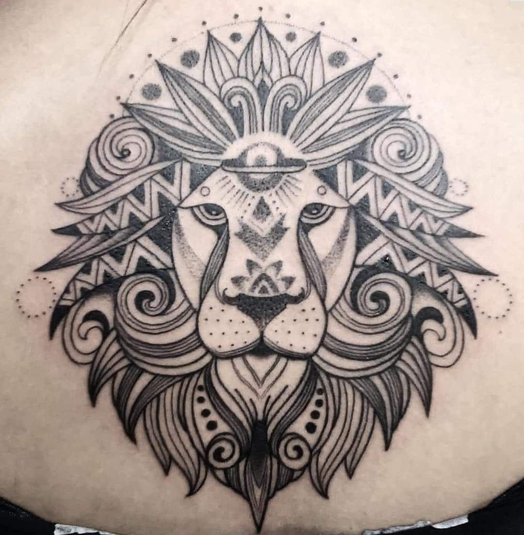 101 Amazing Geometric Lion Tattoo Designs You Need To See In 2020 Geometric Lion Tattoo Geometric Lion Lion Shoulder Tattoo