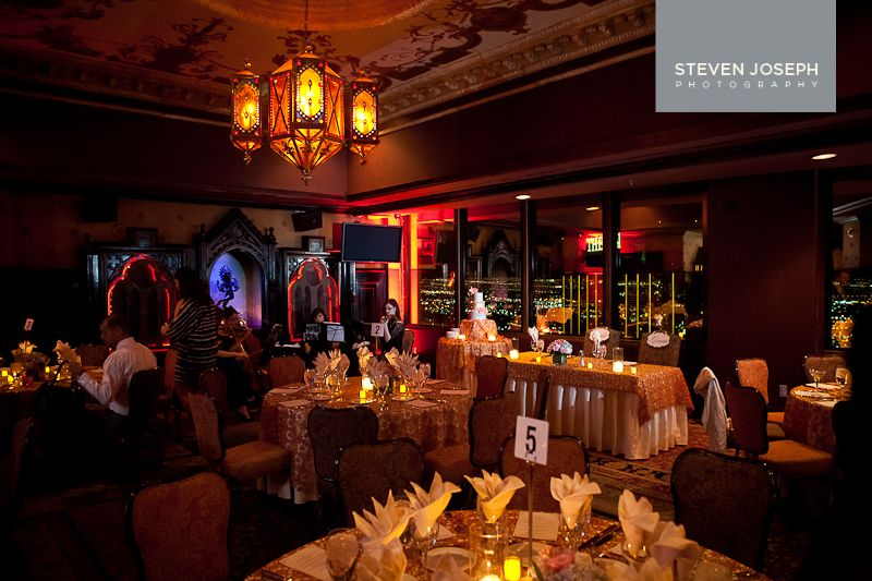 Wedding reception at Foundation Room at Mandalay Bay | Stephen ...