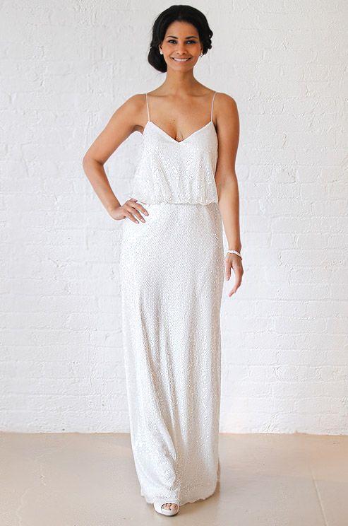 Davids Bridal Vintage Inspired Wedding Dress Fall 2012