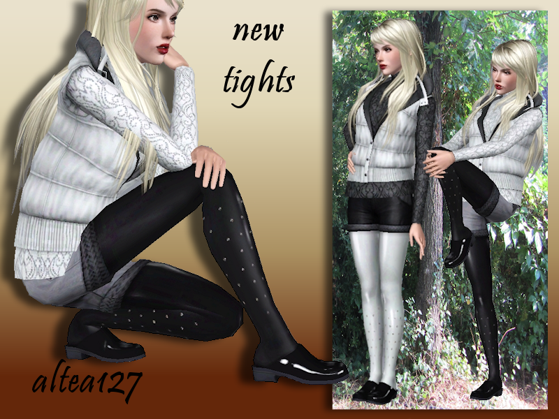 altea127 SimsVogue: Tights con strass