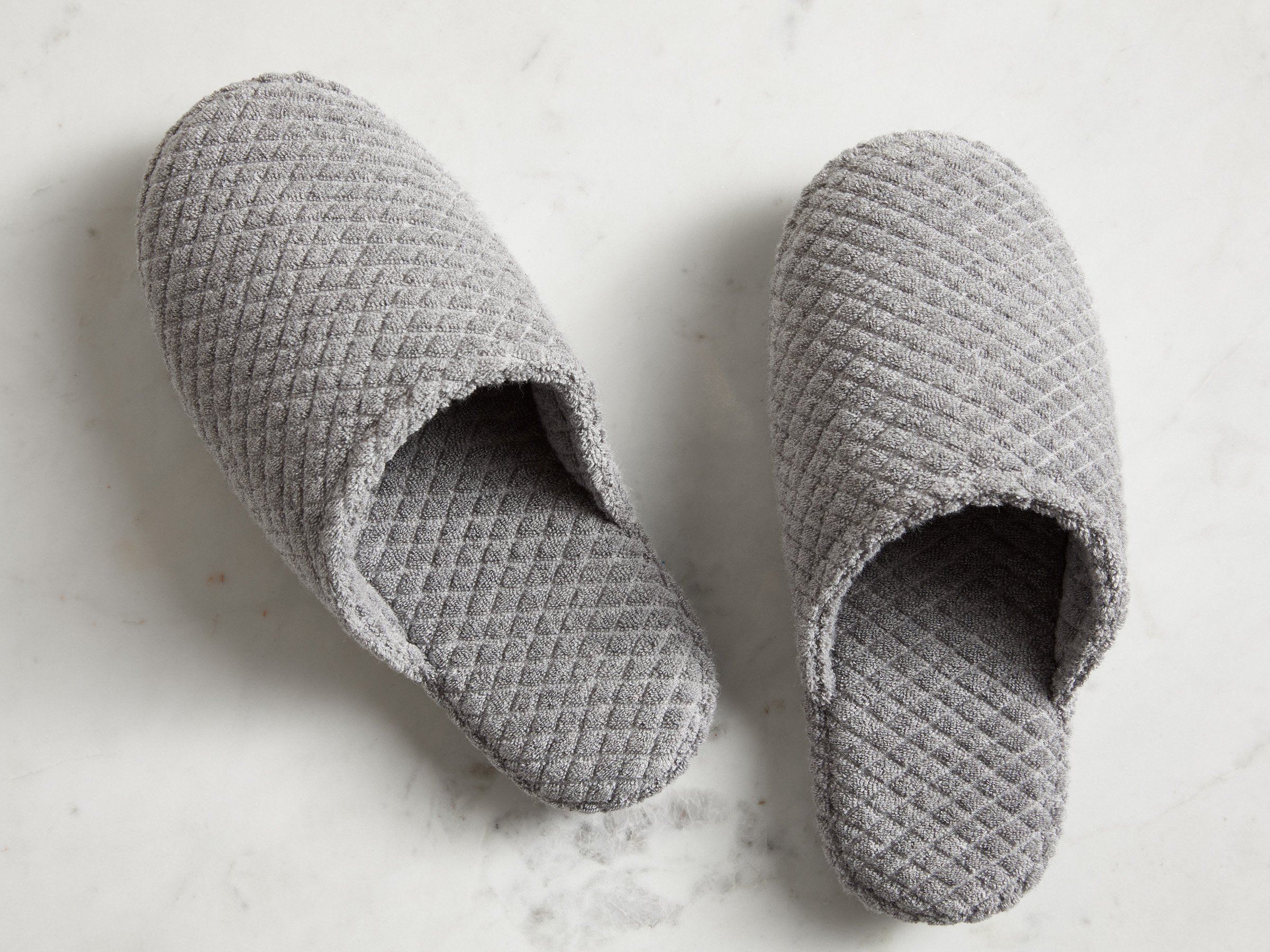 1c78296c73c Parachute Home Quilted Slippers Small   Stone in 2019