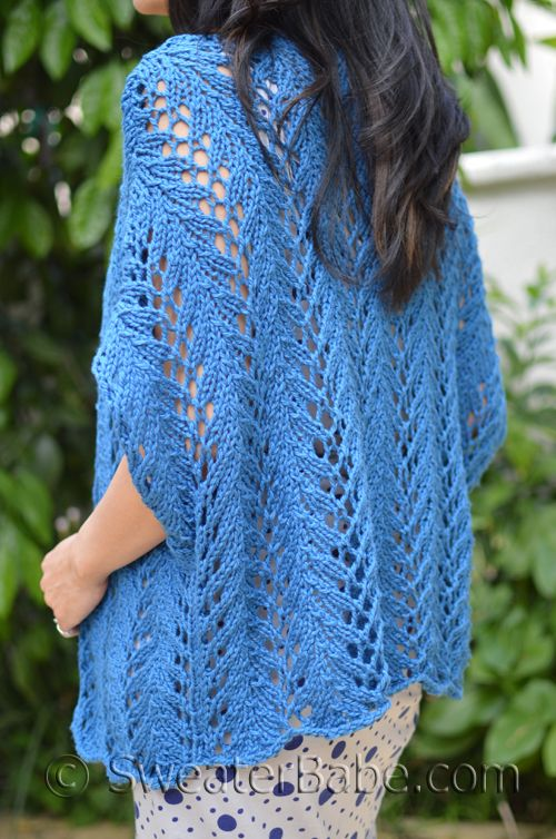 212 Azure Thing Cardigan Pdf Knitting Pattern Knitting Patterns