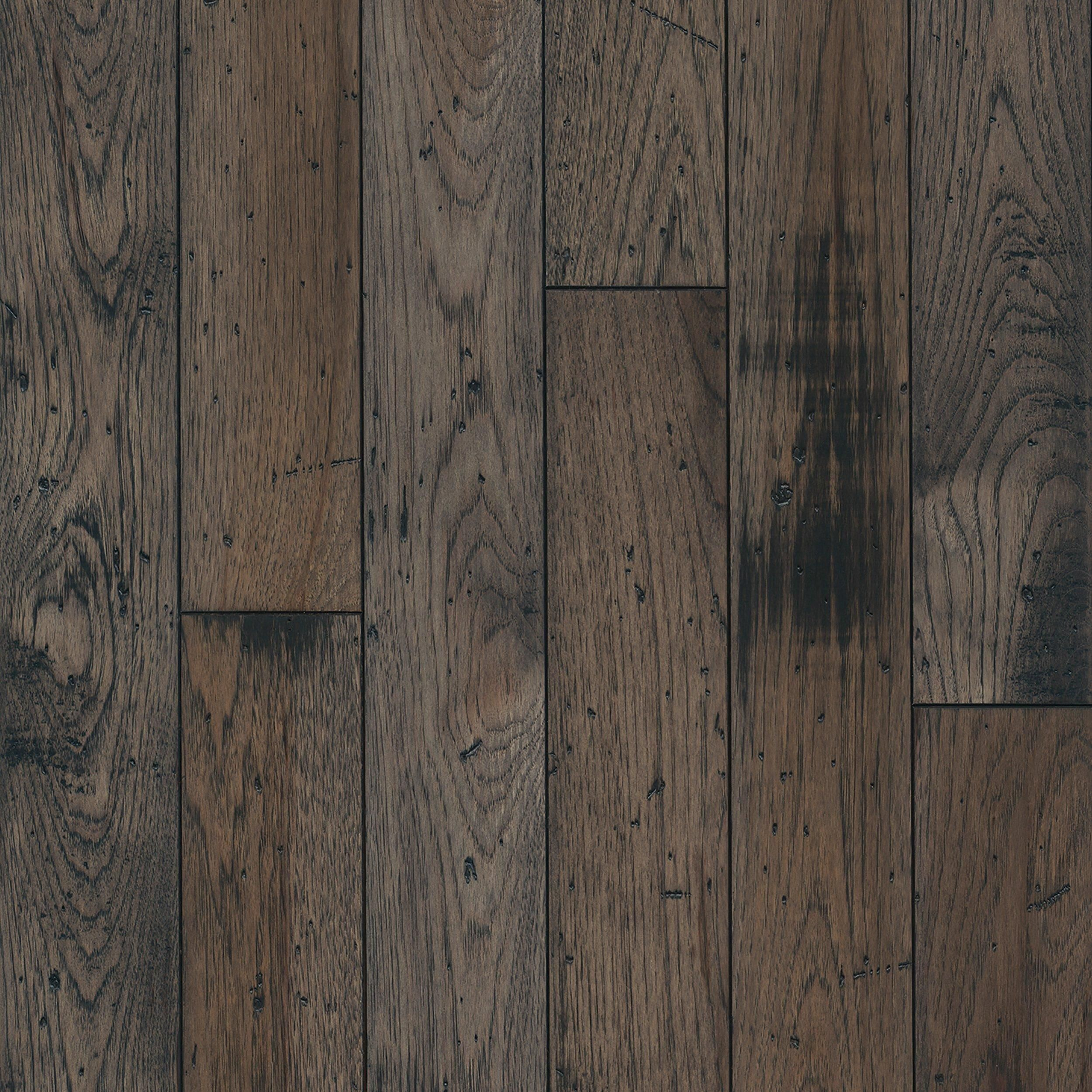 Greyhound Hickory Distressed Solid Hardwood Hickory Wood Floors Rustic Wood Floors Distressed Wood Floors