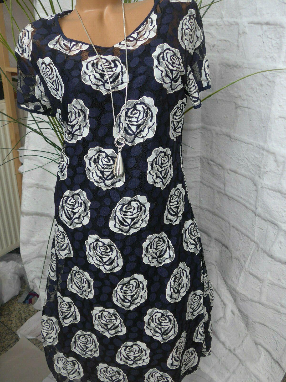 sheego eventkleid abendkleid kleid gr. 44 bis 58 blau