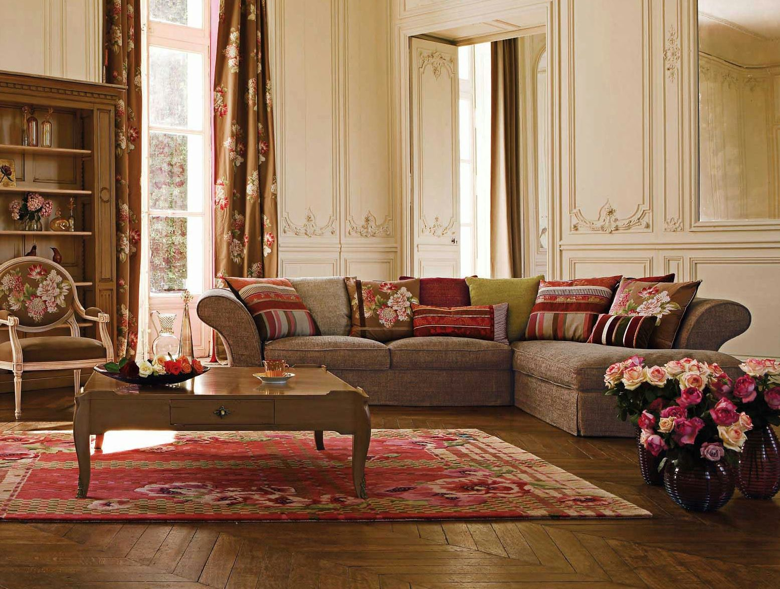 roche bobois images fabric sofa commedia nouveaux. Black Bedroom Furniture Sets. Home Design Ideas