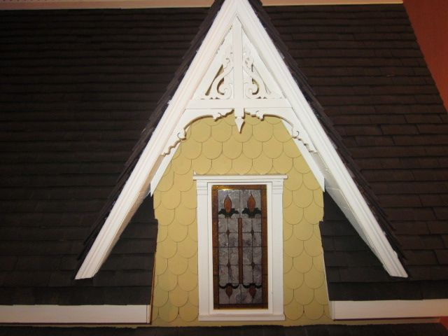 Mar 7, 2015 - A close up of the gable window The \