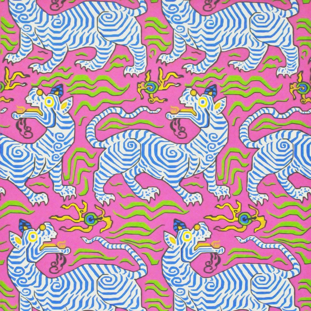 Ordinaire Tibet Hot Pink Wallpaper   Clarence House Pink Wallpaper Bedroom, Print  Wallpaper, Painting Wallpaper