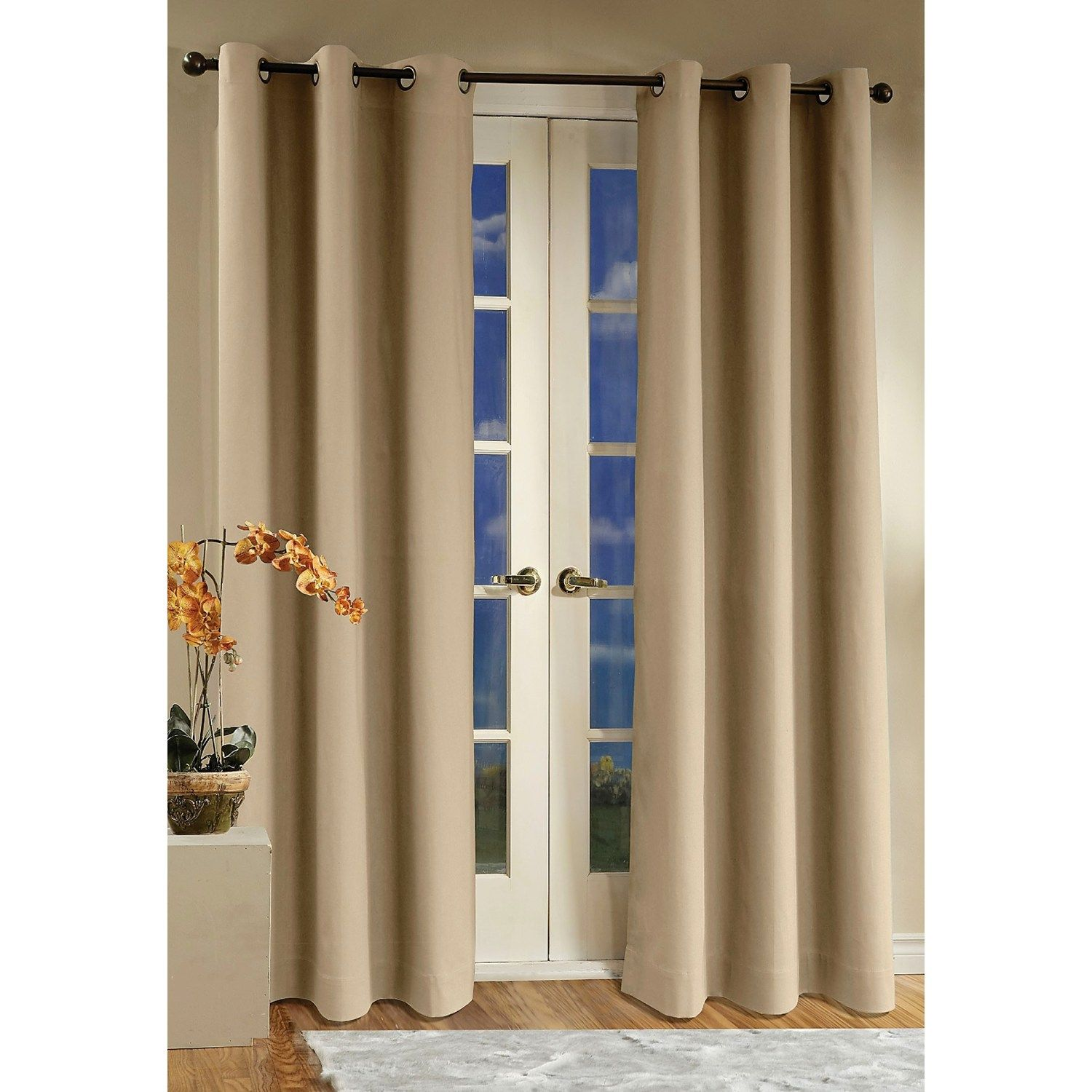 thermalogic weathermate curtains 80x95 grommet top insulated