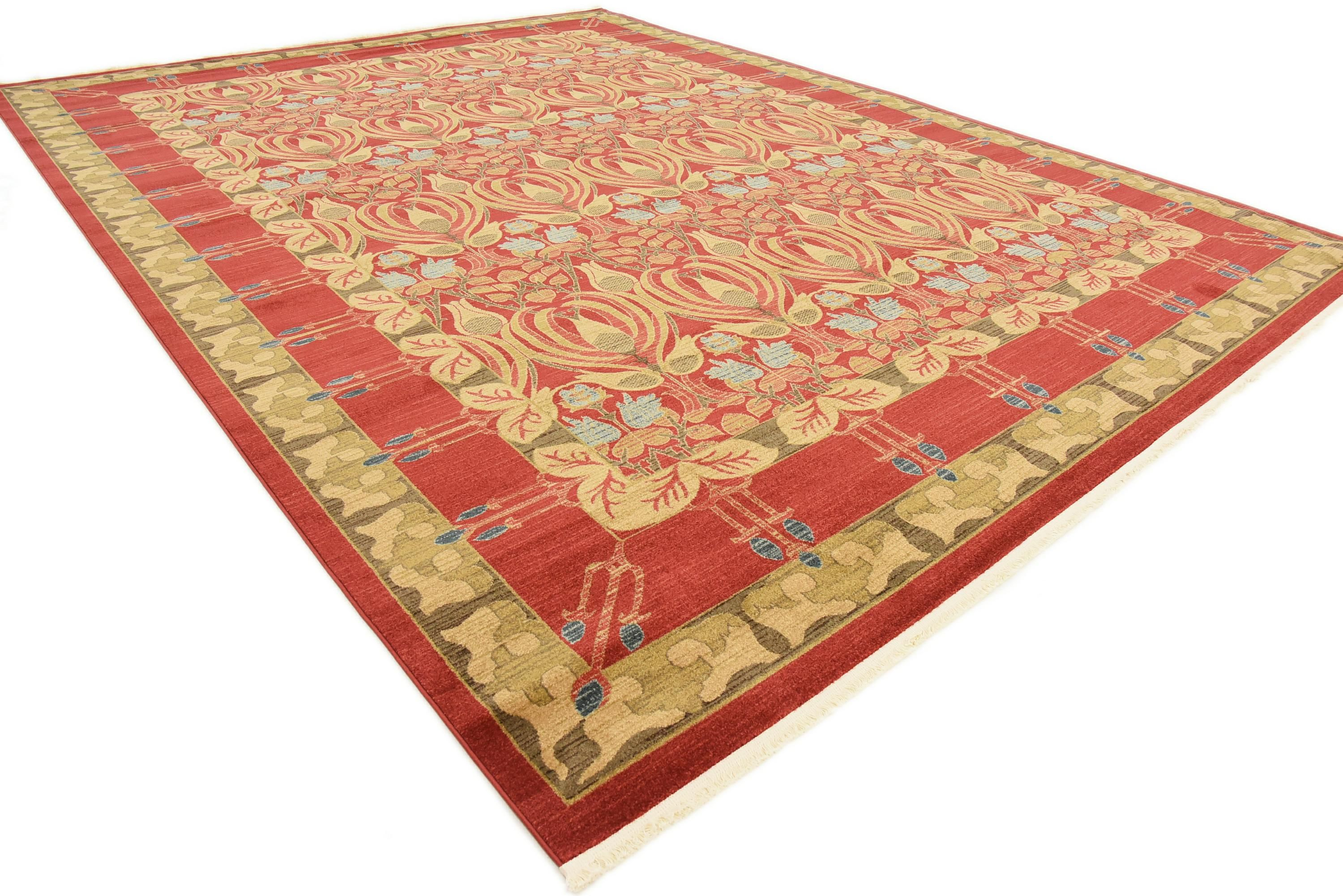 Red 12 2 X 16 Kensington Rug Affiliate Red Rug Kensington Sponsored Vintage House Buy Rugs Rugs
