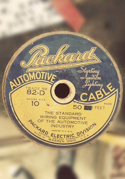 Packard Automotive Cable Packard Packard Cars Graphic Design Logo