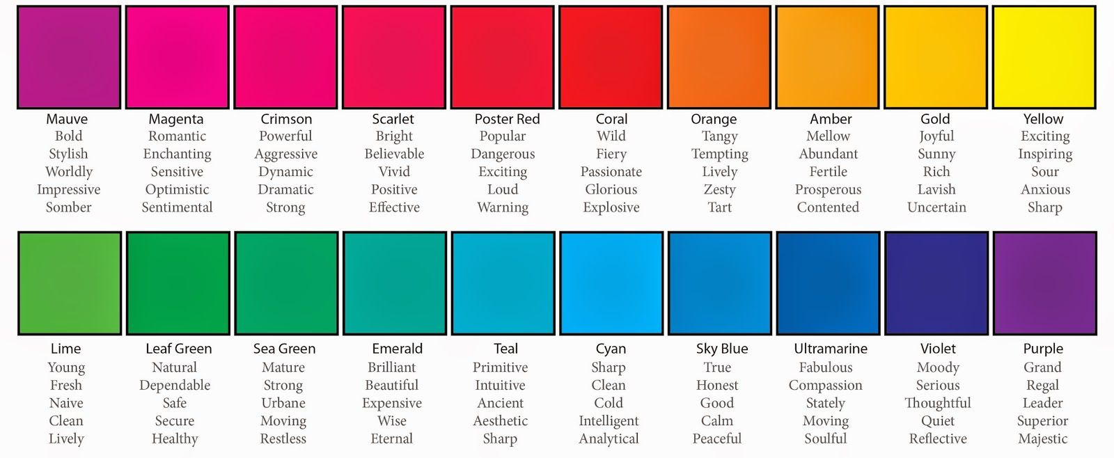 Explore Color Psychology, Storytelling and more!