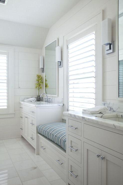 Genial Bathroom Bench Seat Bathroom With Window Seat Cottage Bathroom Design Group  Bathroom Vanity Bench Seat U2013