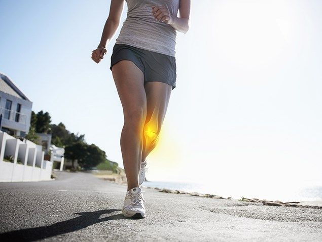 Can I run with arthritic knees?