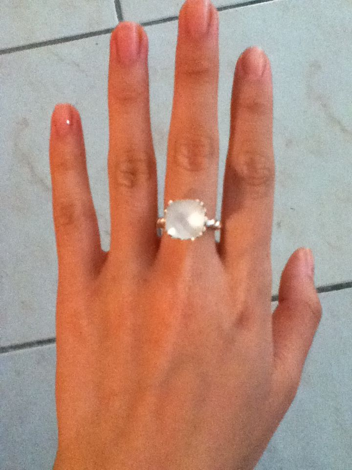 c0b1e592b ... closeout pandora. this mother of pearl rings looks great with a tan.  a077a d094a