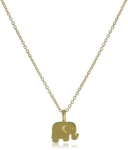 Dogeared jewels and gifts reminder good luck gold plated sterling dogeared jewels and gifts reminder good luck gold plated sterling silver elephant pendant necklace dogeared jewels gifts 6200 aloadofball Gallery