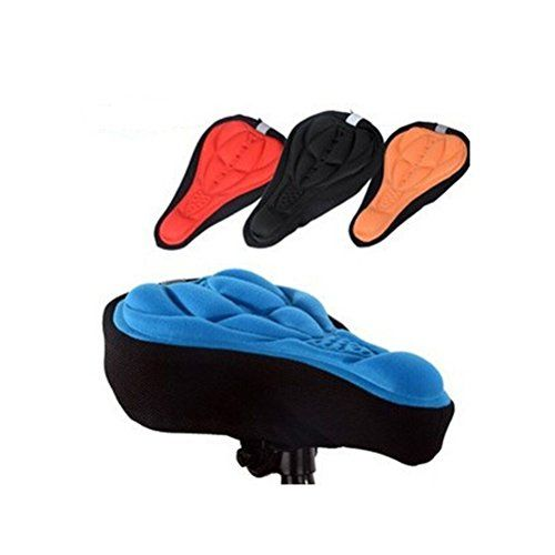Nasis Comfortable Soft Gel BikeBicyle Saddle Seat Cushion Pad Cover AL7121 * Details can be found by clicking on the image. (Note:Amazon affiliate link)
