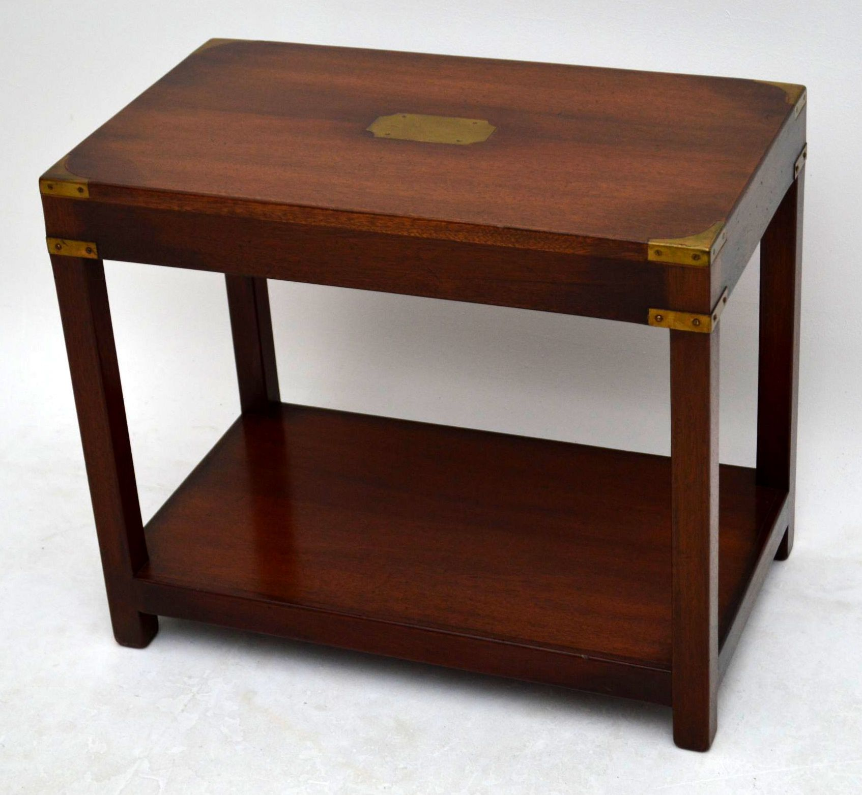 Picture of Campaign Side Table Explained Furniture
