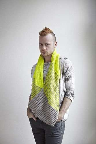 Safety Scarf 8 by westknits. I totally want to make this for Luz!