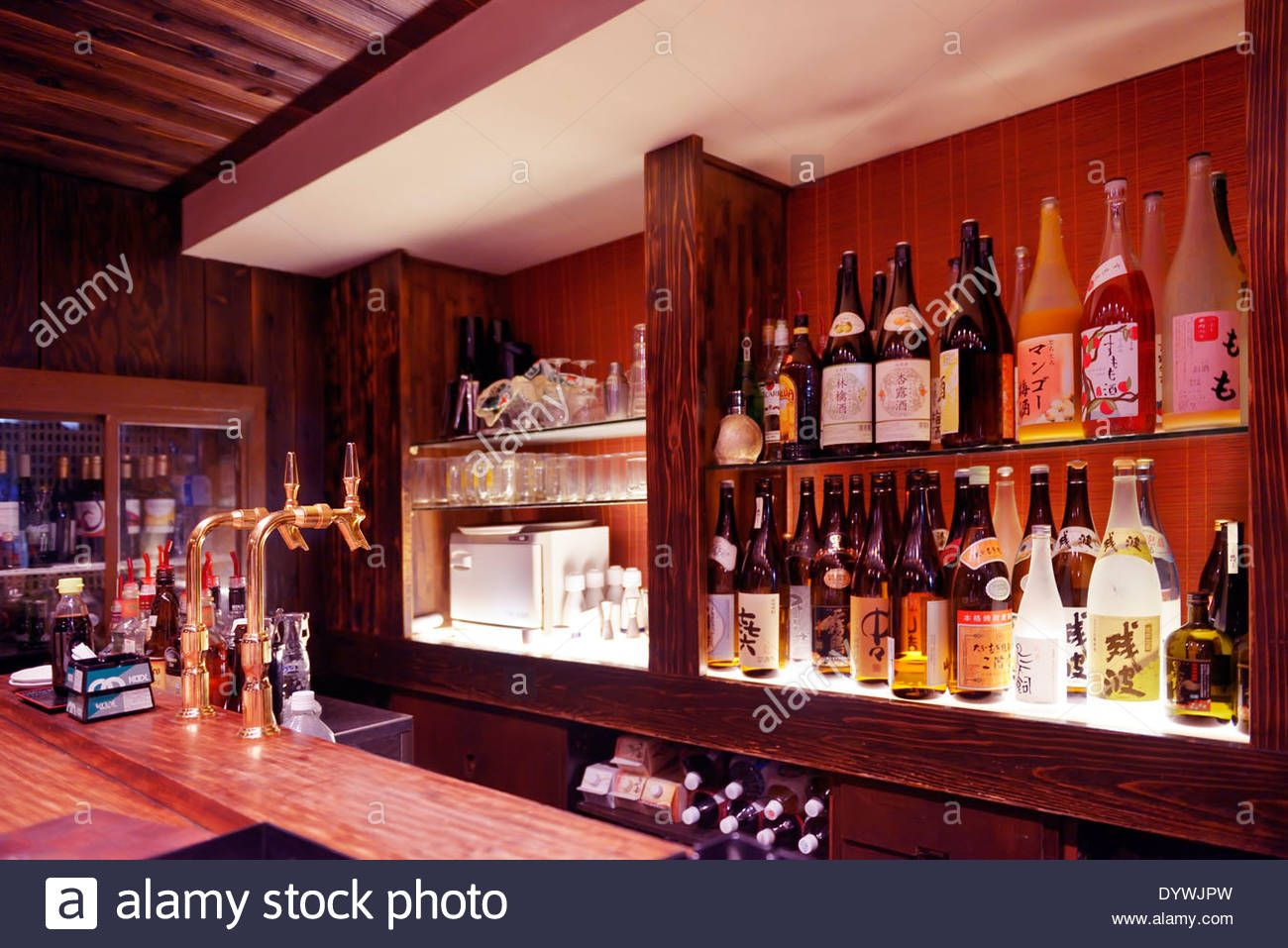 Download This Stock Image Bar Counter In Tokyo Japan Izakaya Dywjpw From Alamy S Library Of Millions Of High Resolution Izakaya Bar Counter Stock Photos