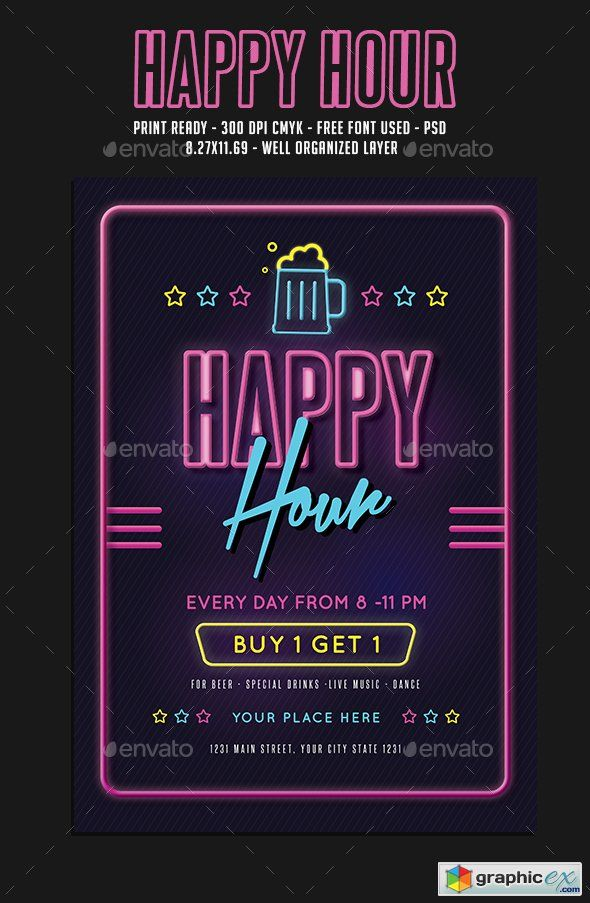 Translucent | poster | Flyer template, Event flyer templates