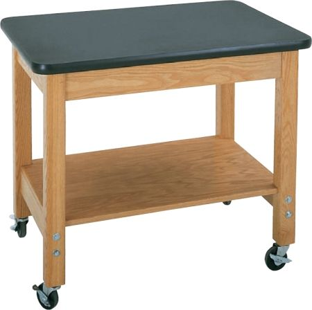 Mobile Science Demonstration Tables Available In High Pressure Black Laminate Or Chemguard Tops Wood Crafts Office Furniture Modern Plywood Shelves