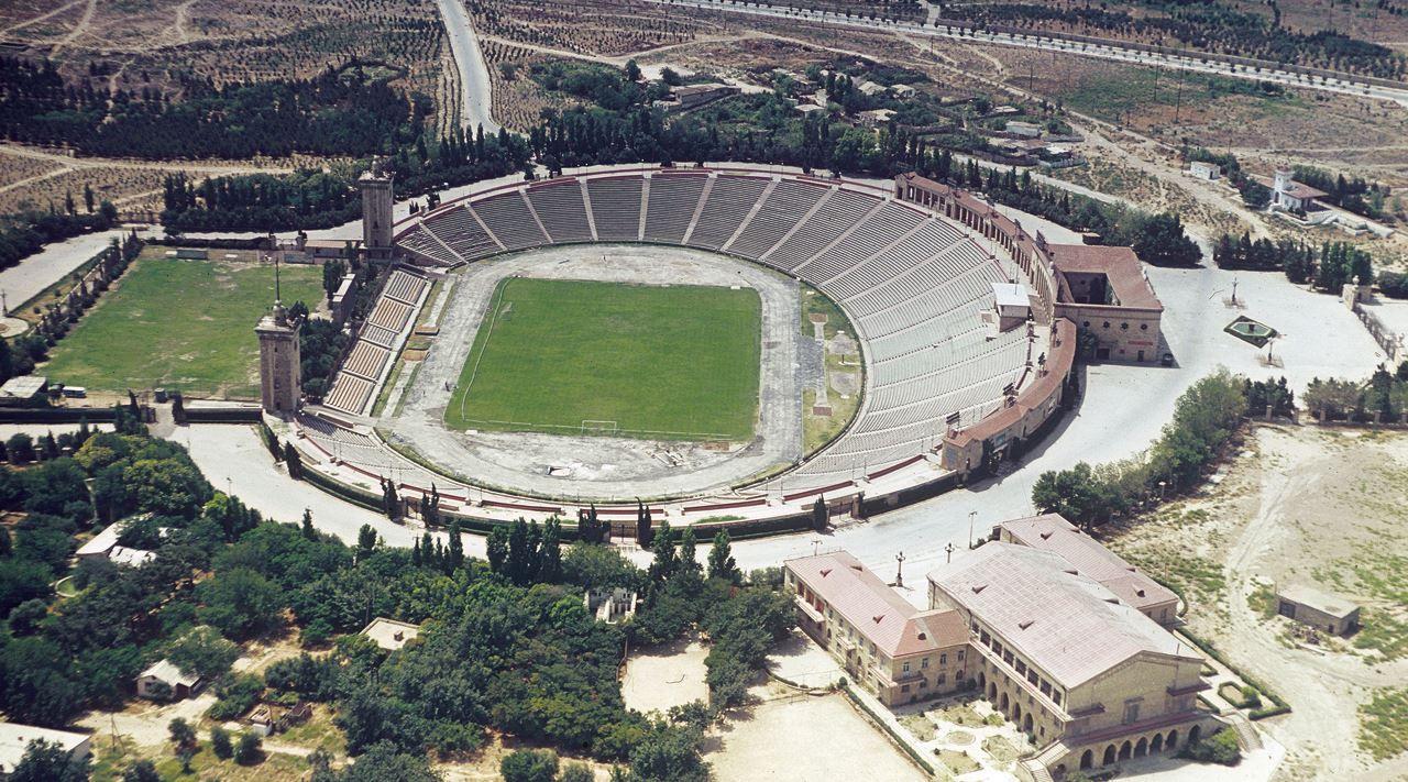 Tofiq Bahramov Republican Stadium Formerly Named After Lenin Baku Azerbaijan 1970s Baku Azerbaijan Baku Azerbaijan