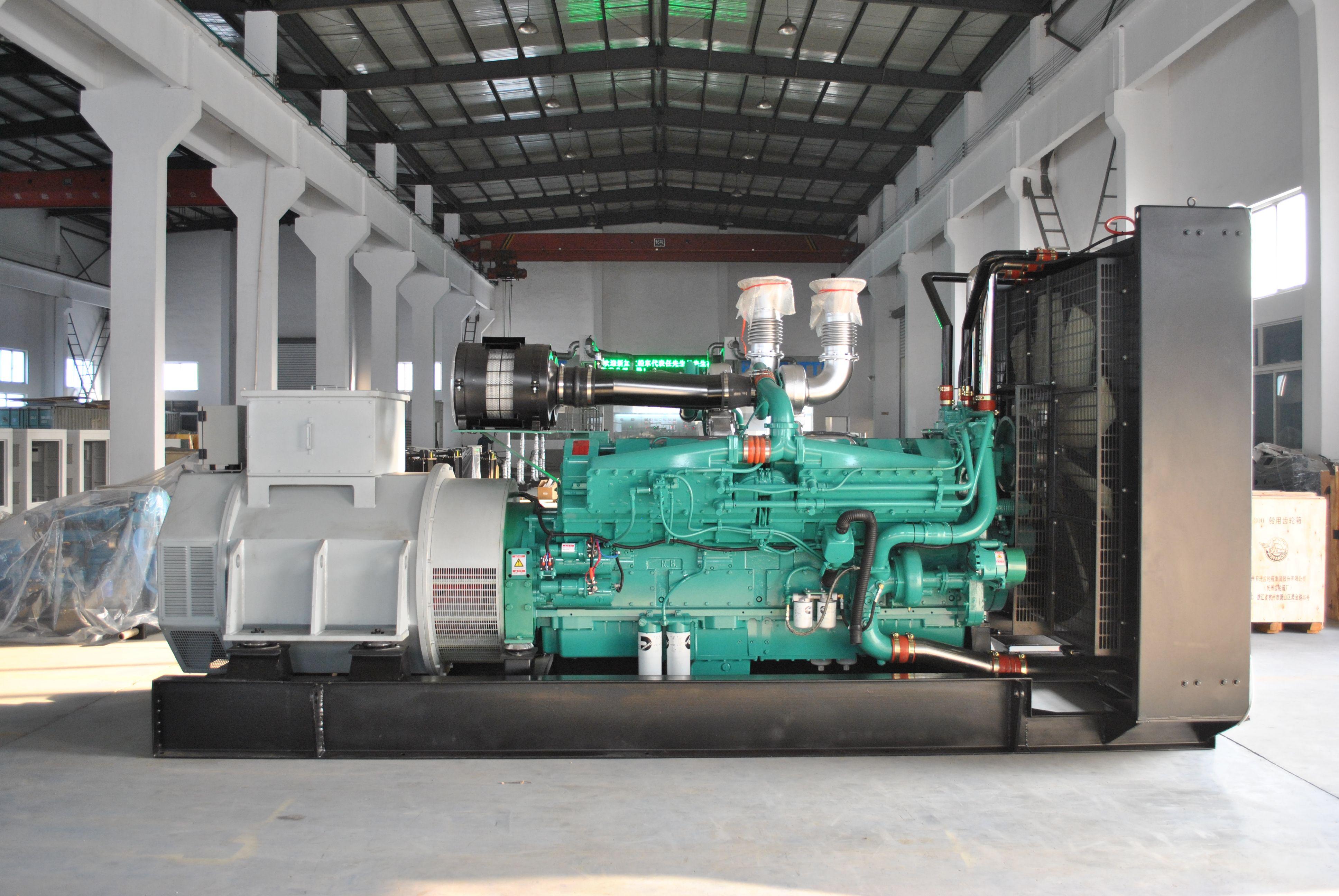 50HZ 60hz Auts sel generator set powered by Cummins