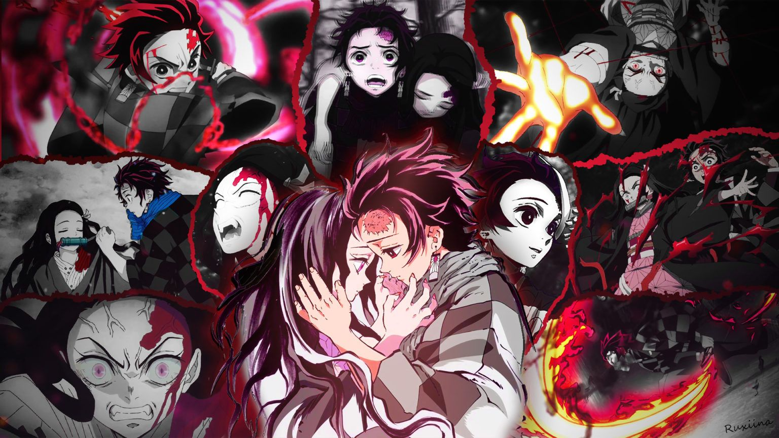 Best Demon Slayer Tanjiro Kamado Hd Wallpaper 2020 Di 2020 Animasi Mitologi Jepang Grafik