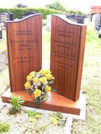 Wooden Memorials Wooden Headstones Crosses Cremation Tablets