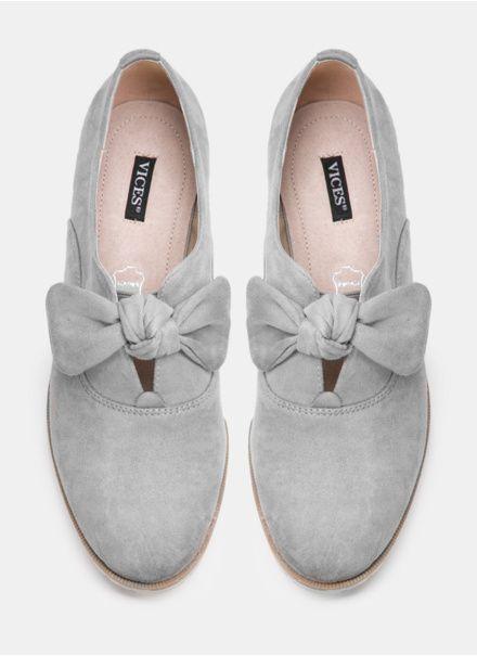 Szare Polbuty Z Kokardka Exor Bow Sneakers Baby Shoes Puma Sneaker