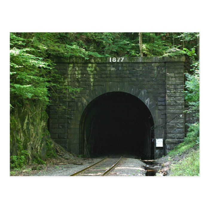 Hoosac Tunnel - East portal located in Florida, MA postcard. This is what it looked like in August of 2008. It has a very interesting history. Here are a few facts I've taken from Wikipedia. The tunnel is 4.75 miles long with the East portal located in Florida, MA and the West portal in North Adams, MA. Work began in 1848 and finished in 1875 for a cost of $21,000,000. It was nicknamed