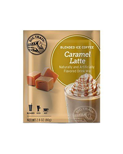 Big Train Blended Ice Coffee, Caramel Latte, 2.8-Ounce