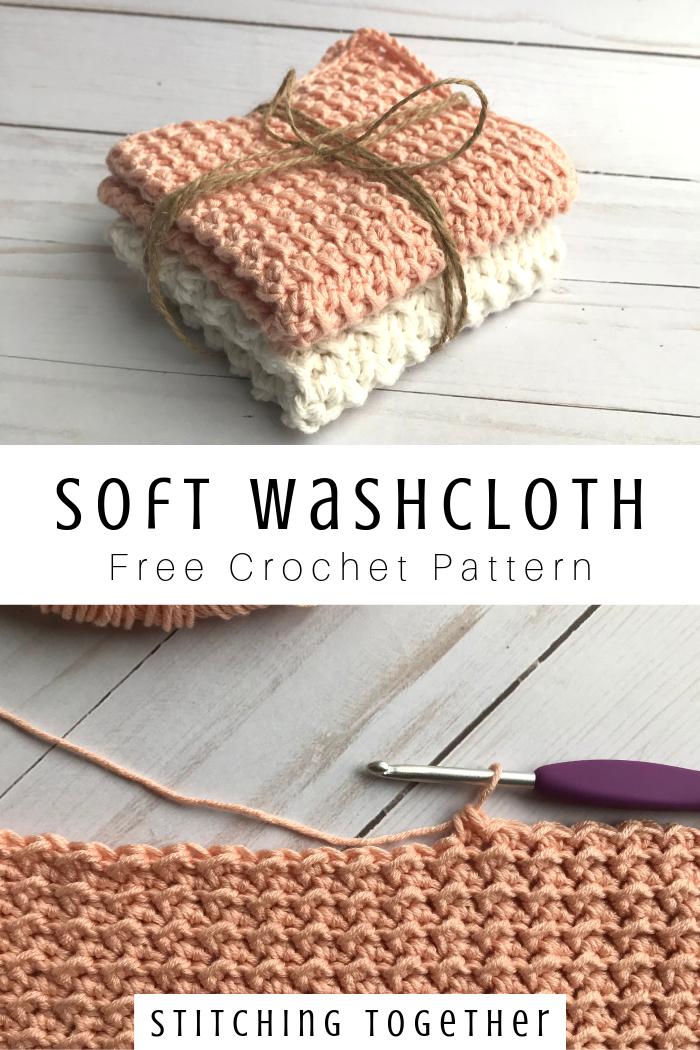 Crochet Washcloth - Softest Crochet Baby Washcloth | Stitching Together -   16 knitting and crochet hooks ideas