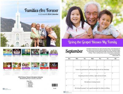 Stay focused, inspired and organized in 2014 with this primary theme calendar. Great gift idea for choristers, accompanists, primary teachers, and leaders. Perfect for families, too! LDS greats