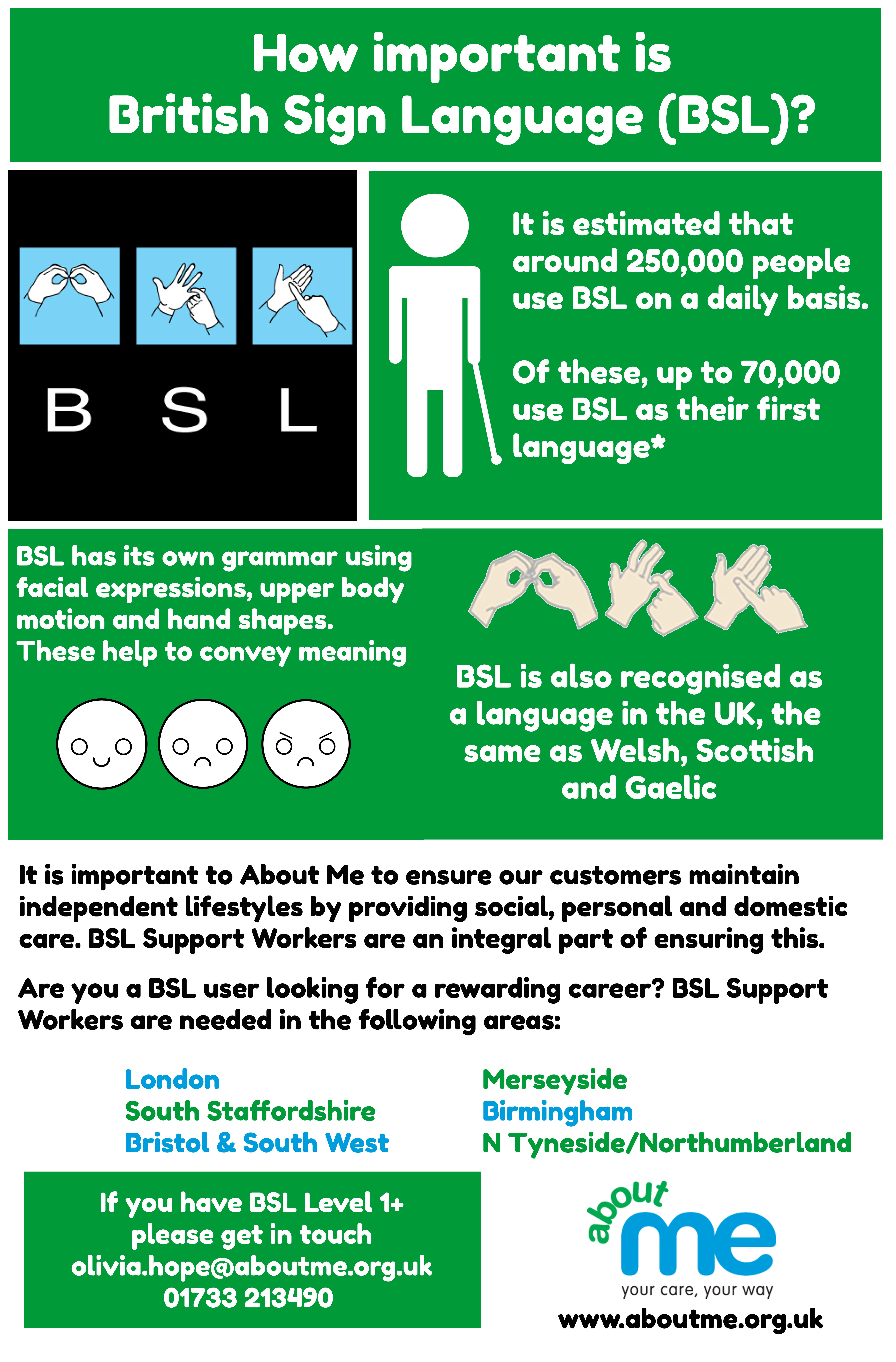 Bsl Support Workers Needed Across The Uk