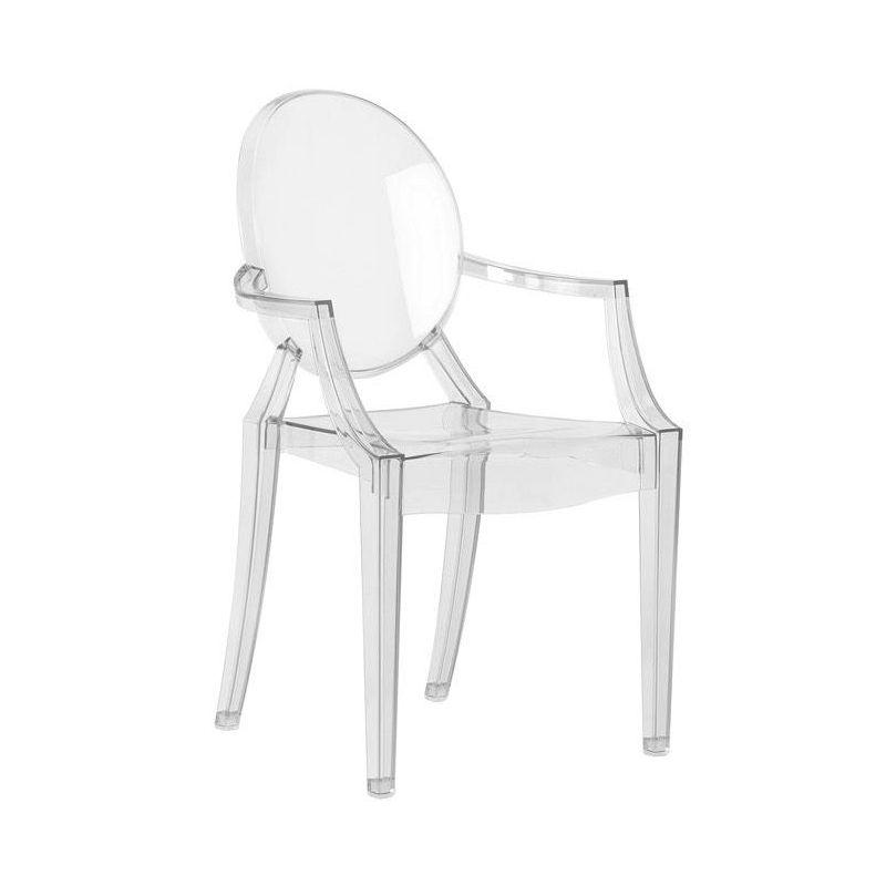 petit fauteuil kartell louis ghost starck sur silvera eshop 270