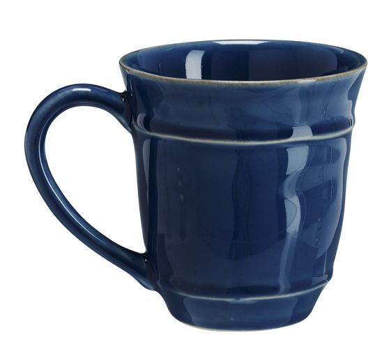 Cambria Mug, Set of 4, Ocean Blue - oh blue. How I love you.