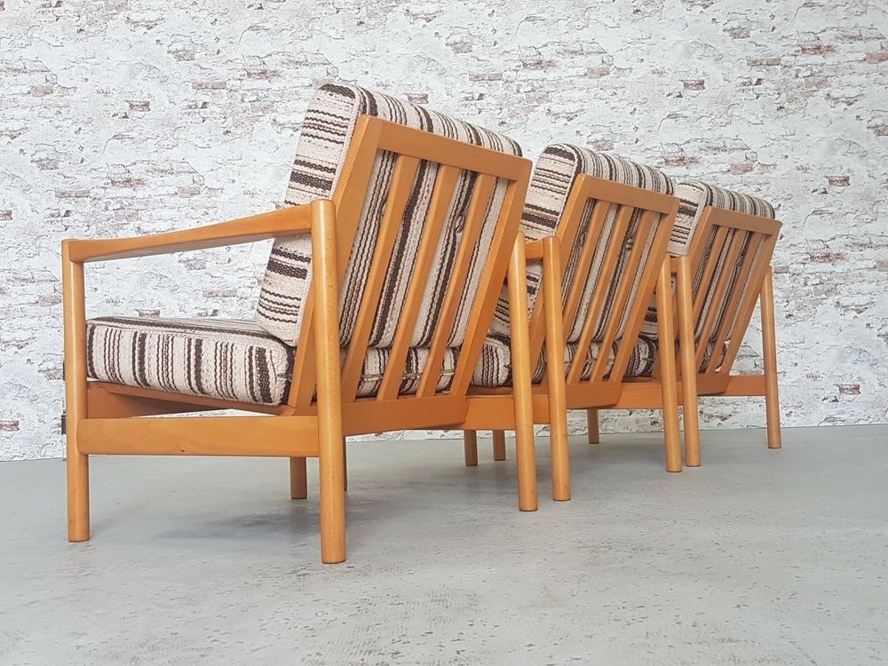 Mid Century Modern Vintage Easy Chair Sessel Danish Design 60er 70er