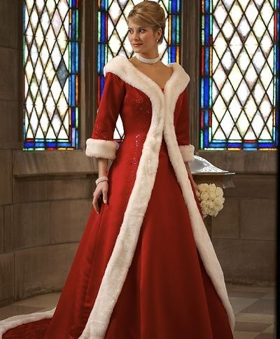 This Could Be A Good Formal Mrs Claus Dress Christmas
