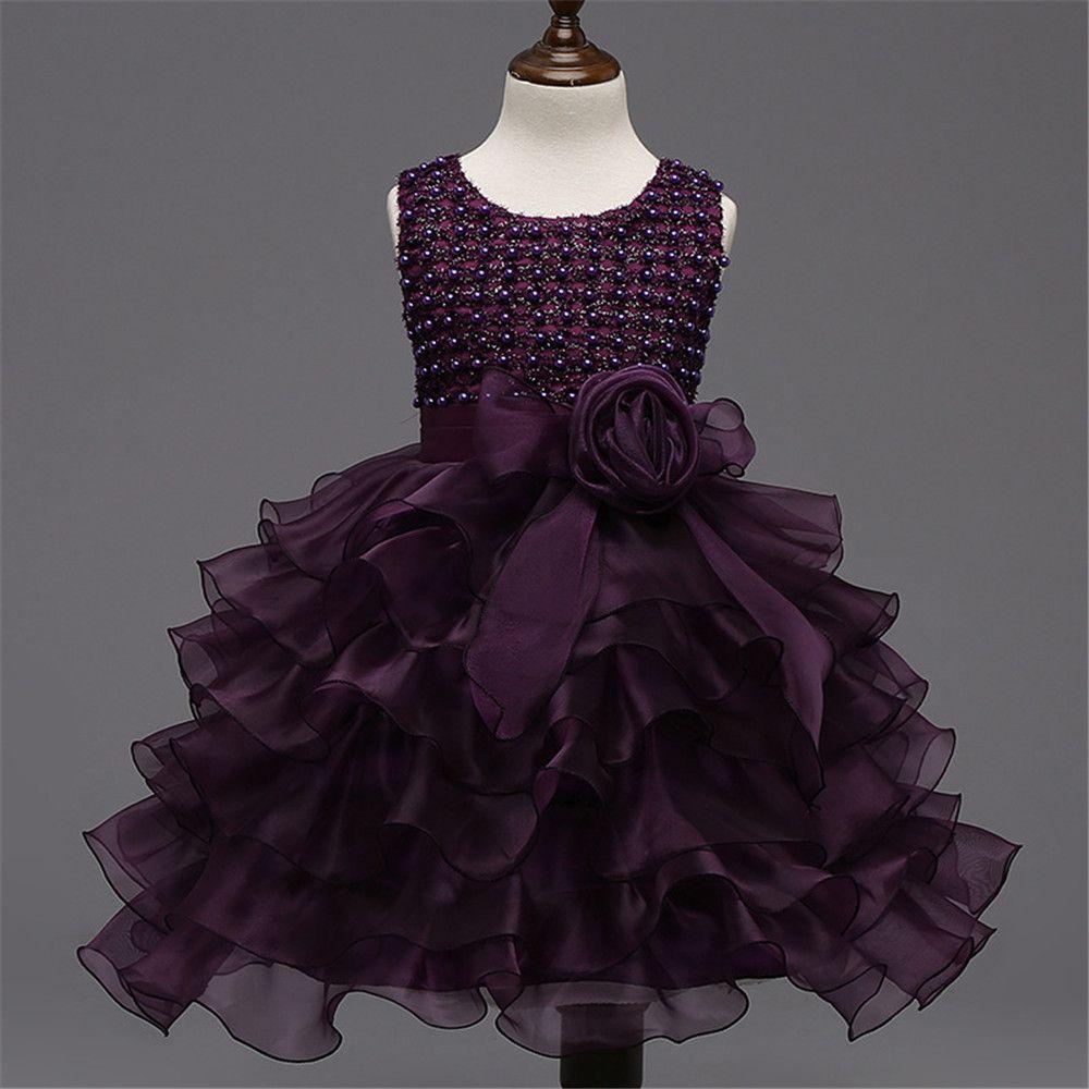 Little girl dresses for weddings  Click to Buy ucuc Formal Events Little Girl Dress Wedding Party