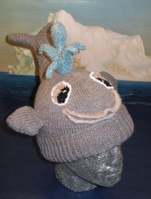 Thar She Blows Whale Hat Knitting Pattern And More Fun Hat Knitting