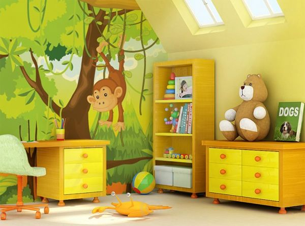 Murals Wallpaper For Kids Room by Eazywallz | Decor or painting your ...