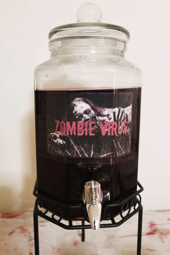 Walking Dead Birthday Party Ideas | Photo 5 of 8 | Catch My Party