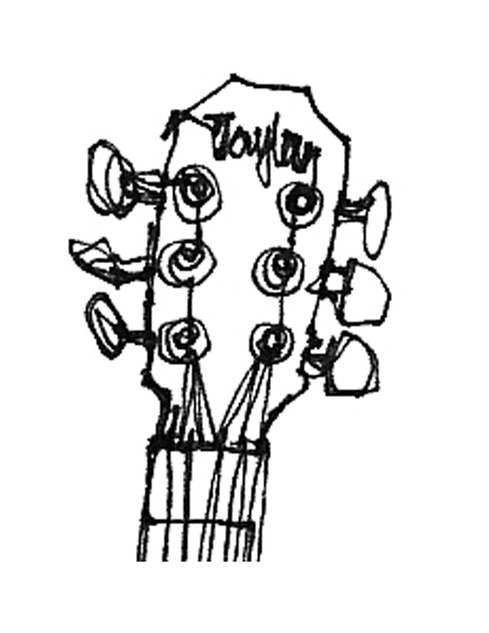 guitar line drawing clipart best dccp in 2019 drawings art  guitar line drawing clipart best
