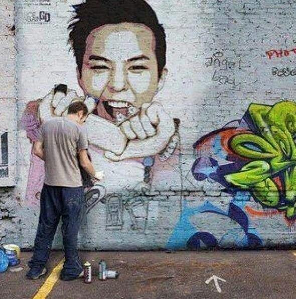 Gd Graffiti Sweeeeet G Dragon Pinterest G Dragon Art And