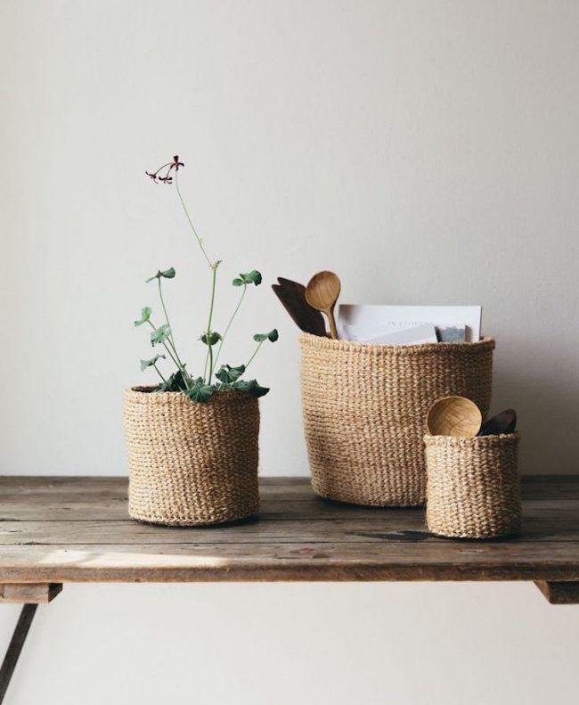 Aufbewahrungskörbe-deko-natürlich-geflochten-deko-vintage