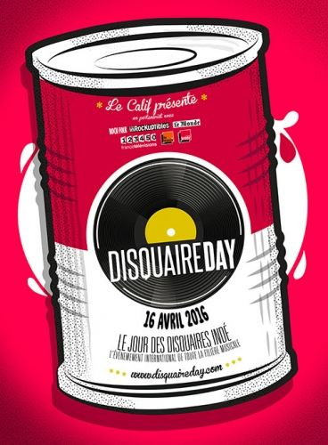 disquaire, day, 2016, pink, conserve, boite, box, metal, music, festival, andy